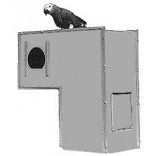 Assembled Small L Box 16x16x8