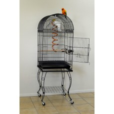 Round top cage